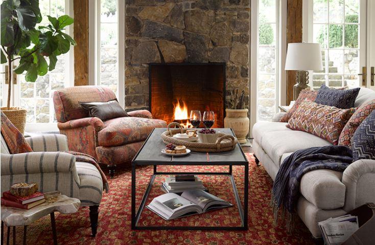 deep creek lake vacation rental lodging furniture art store retail rugs